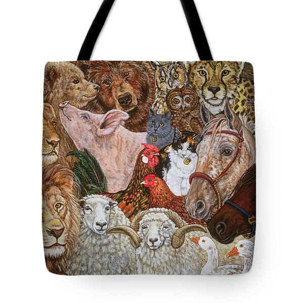 The Ark Spread Tote Bag