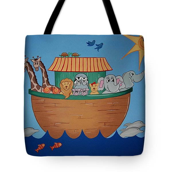 The Ark Tote Bag