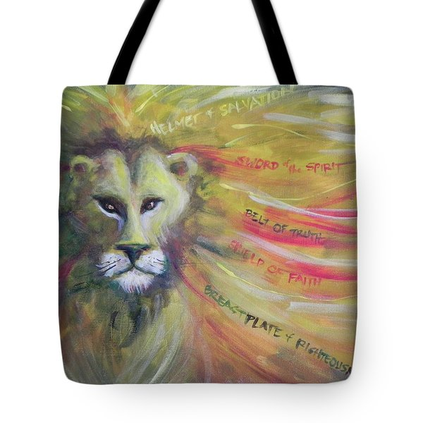The Armor Of God Tote Bag