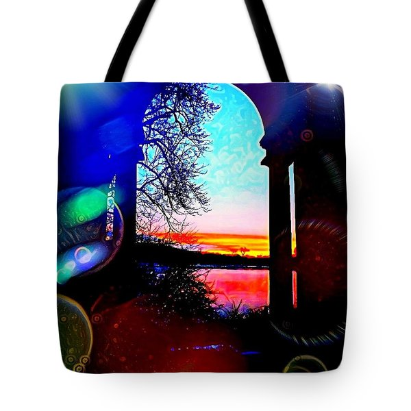 The Arrivals Tote Bag