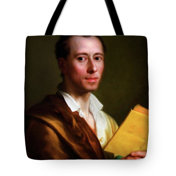 The Art Historian Tote Bag by Georgiana Romanovna