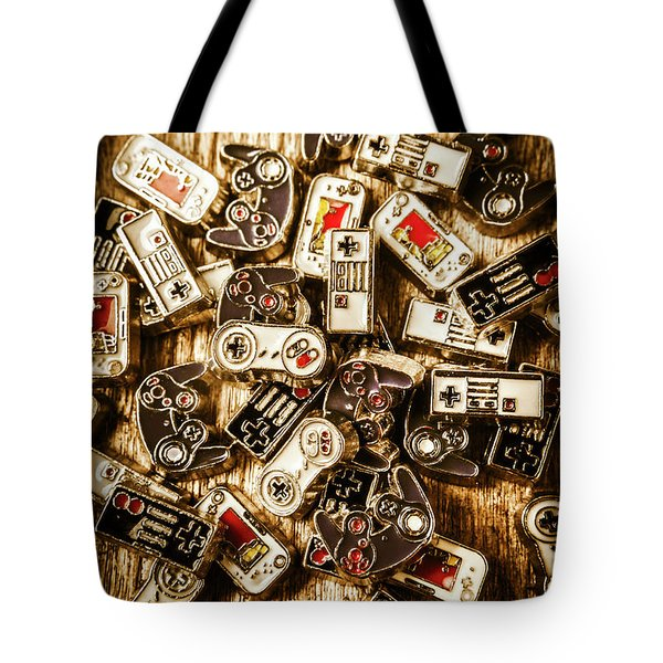 The Art Of Antique Games Tote Bag
