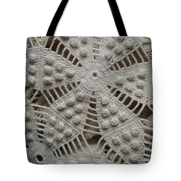 The Art Of Crochet  Tote Bag