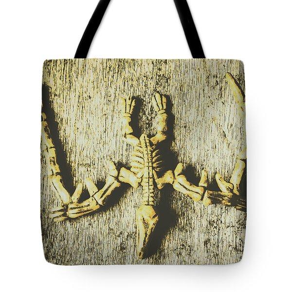 The Art Of Dinosaur Birds Tote Bag