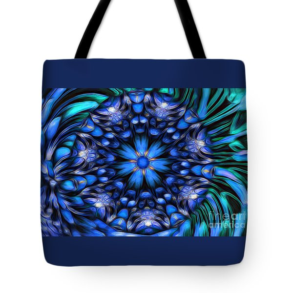 The Art Of Feeling Centered Tote Bag by Mary Lou Chmura