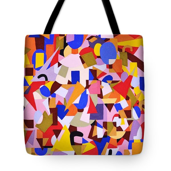 The Art Of Misplacing Things Tote Bag by Reb Frost