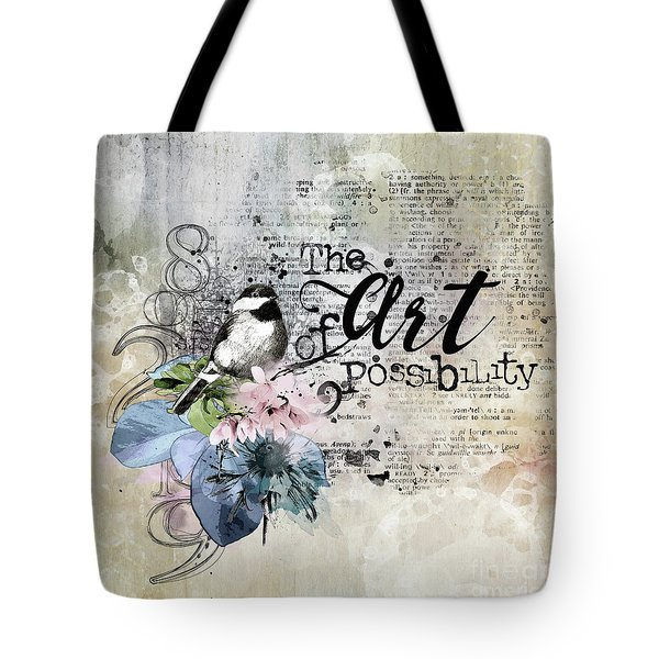 The Art Of Possibility Tote Bag