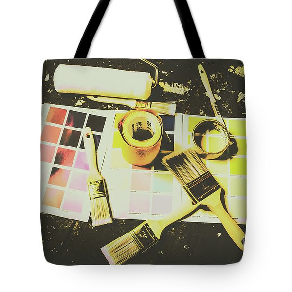 The Art Of Restoration Tote Bag