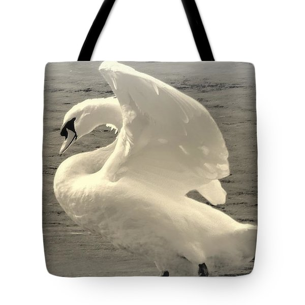 The Art Of The Swan  Tote Bag