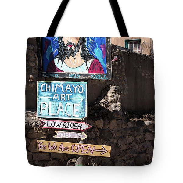 The Art Place In Chimayo Tote Bag