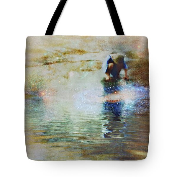 The Artist As A Boy Tote Bag
