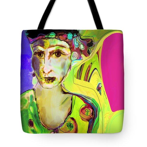 The Artist In Fauve Tote Bag