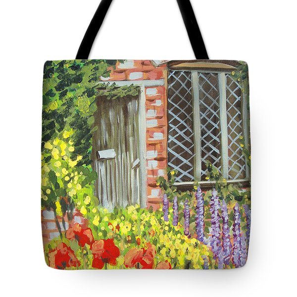 The Artist's Cottage Tote Bag