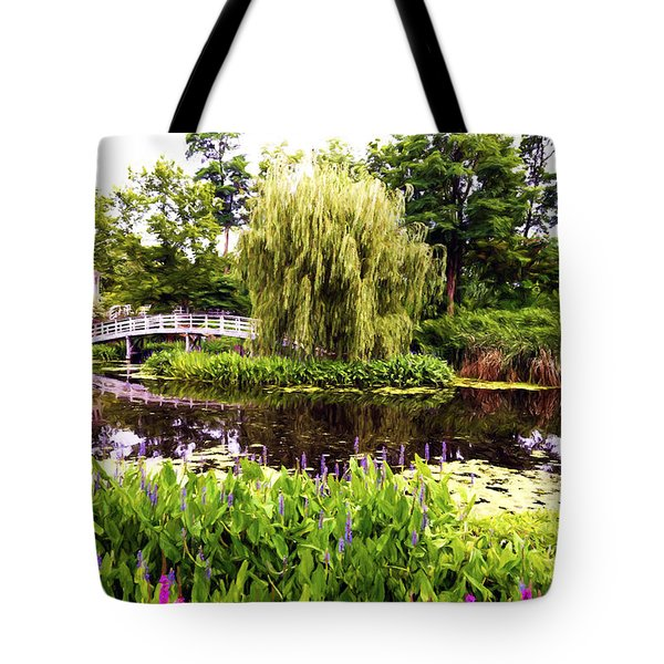 The Artists Garden Tote Bag