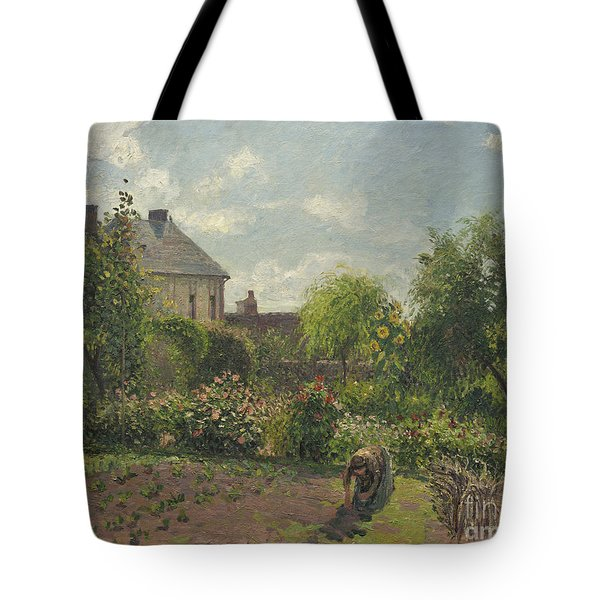 The Artist's Garden At Eragny Tote Bag
