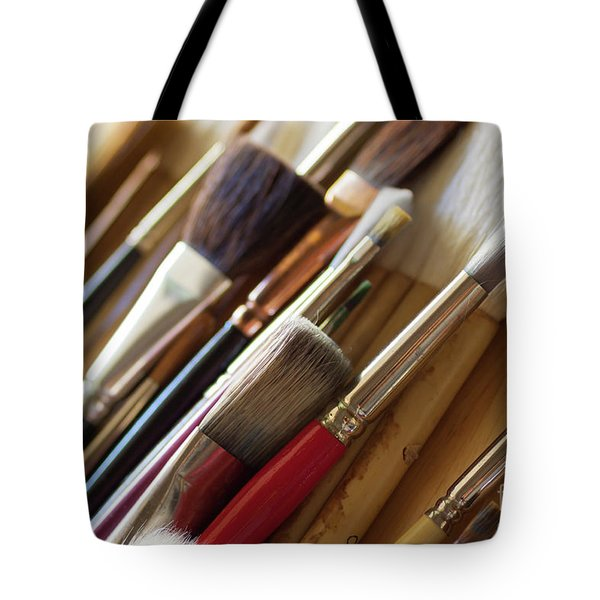 Tote Bag featuring the photograph The Artist's Studio by Ana V Ramirez
