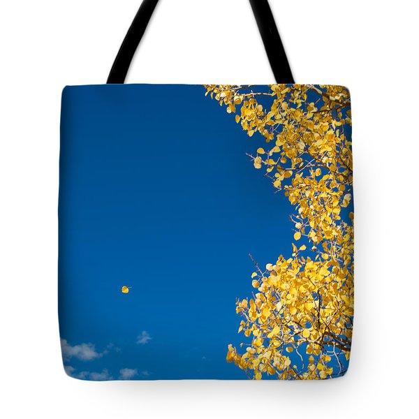 The Aspen Leaf Tote Bag