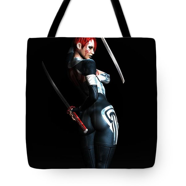 The Assassin's Code Tote Bag by Alexander Butler