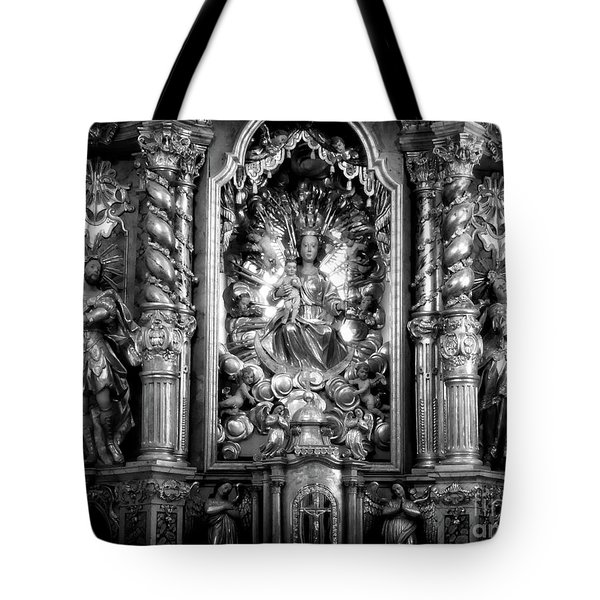 The Assumption Of Mary Pilgrimage Church Tote Bag