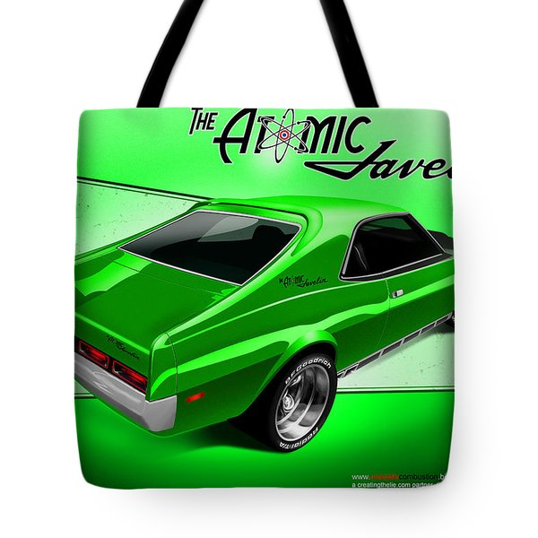 The Atomic Javelin Rear Tote Bag