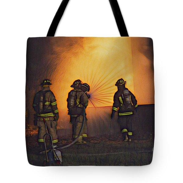 The Attack Tote Bag