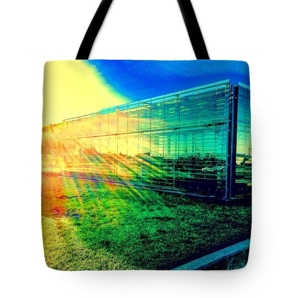 The Aura Of 5.4.7 Gallery Tote Bag