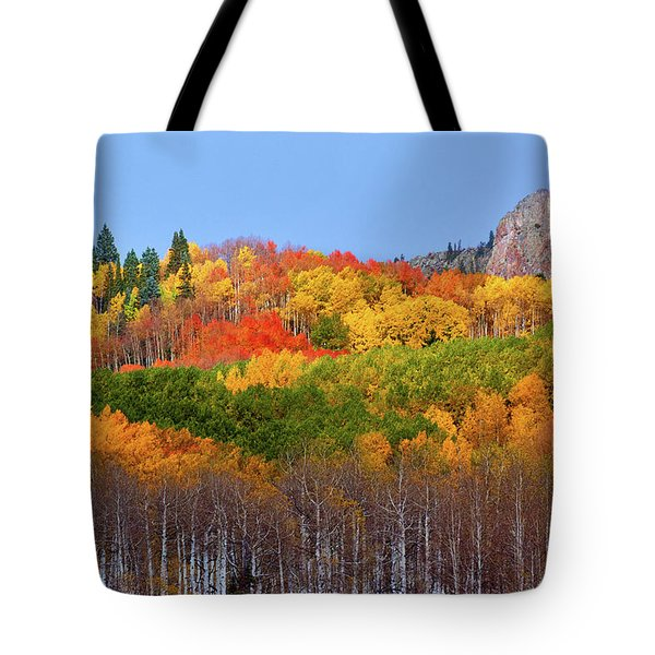 The Autumn Blanket Tote Bag