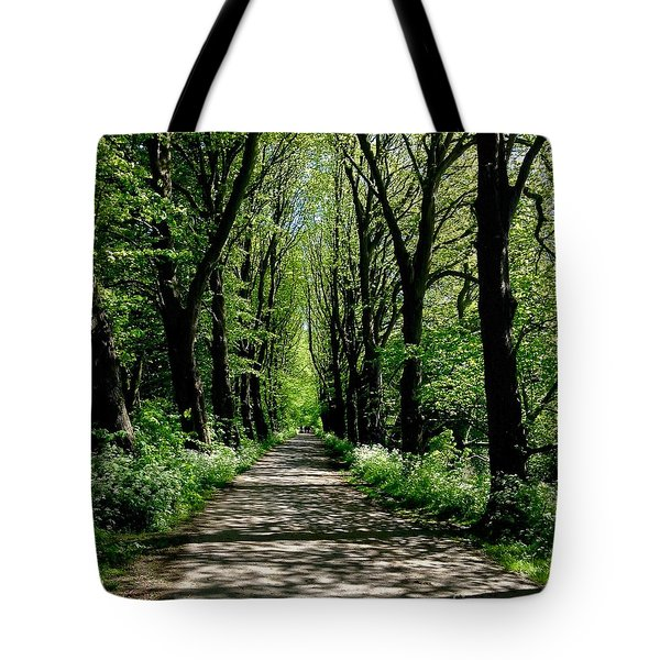 The Avenue Of Limes At Mill Park 3 Tote Bag