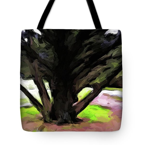 The Avenue Of Trees 1 Tote Bag