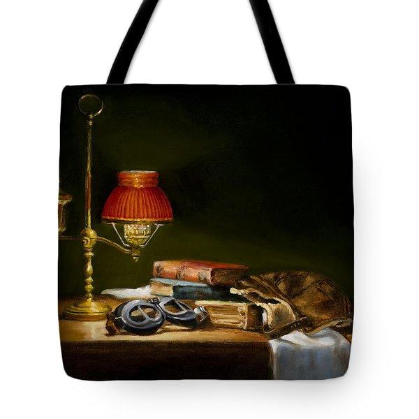 The Aviator Tote Bag by Barbara A Jones
