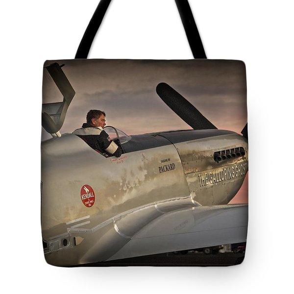 The Aviator Jimmy Leeward Redux For Tees Tote Bag
