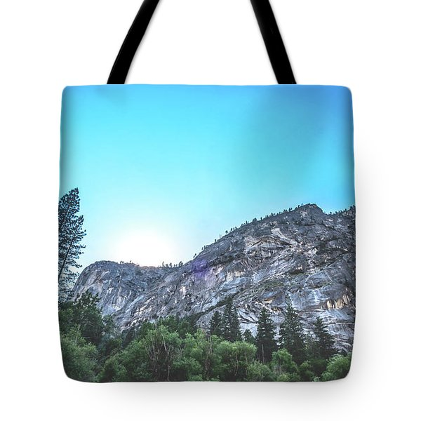 Tote Bag featuring the photograph The Awe- by JD Mims