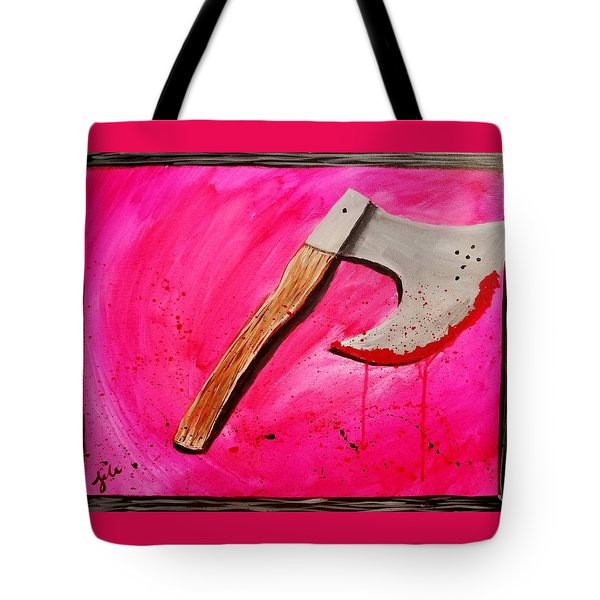 The Axe Of God  Tote Bag