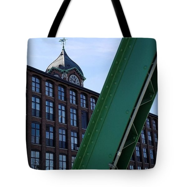 The Ayer Mill And Clock Tower Tote Bag