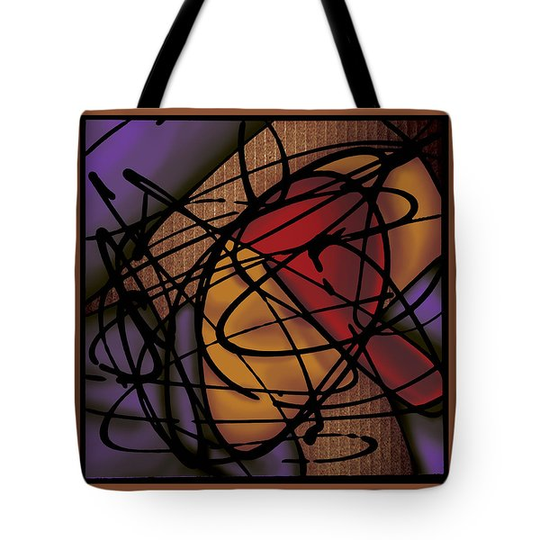 The B-boy As Breaker Tote Bag