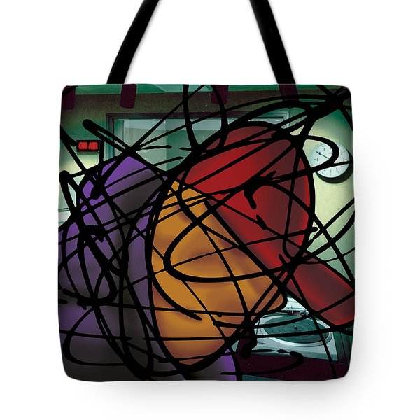 The B-boy As Dj Tote Bag