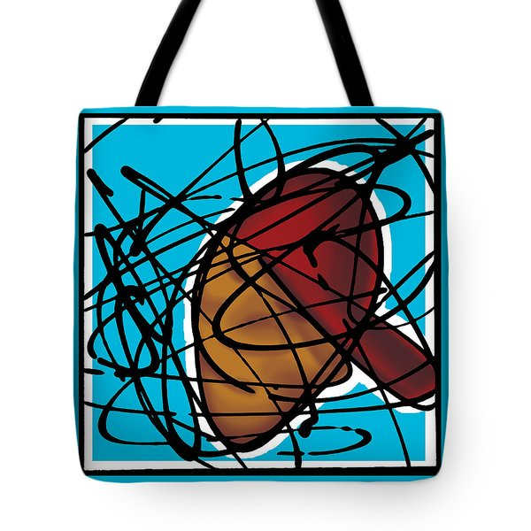 The B-boy As Icon Tote Bag