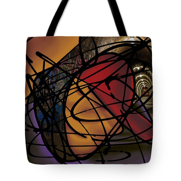 The B-boy As Writer Tote Bag