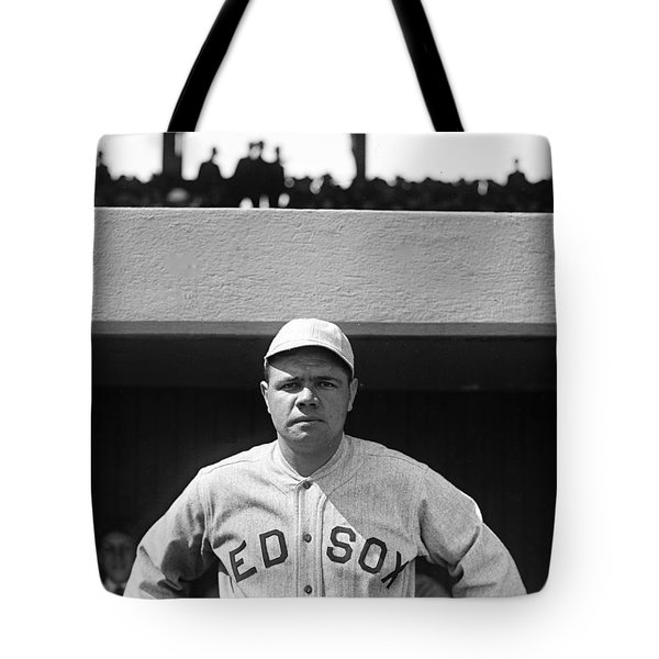 The Babe - Red Sox Tote Bag by International  Images