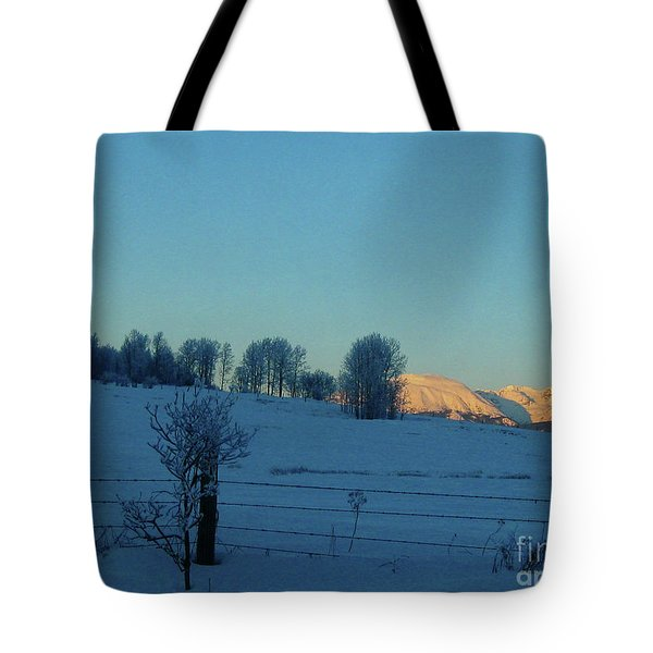'the Babines, Dead Of Winter' Tote Bag