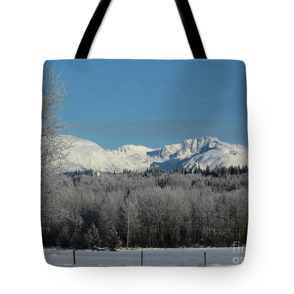 The Babines From 'the Hi-road' Tote Bag