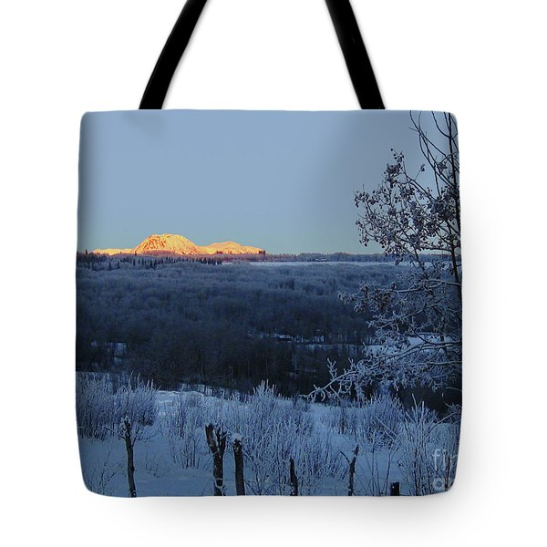 The Babines In Winter Tote Bag