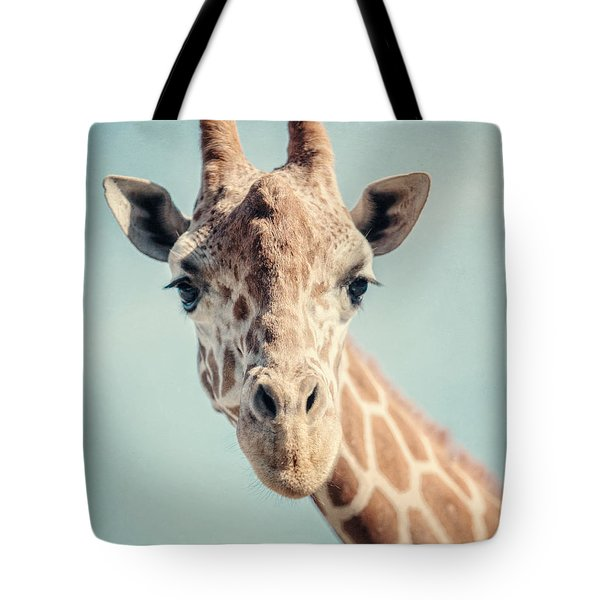 The Baby Giraffe Tote Bag by Lisa Russo
