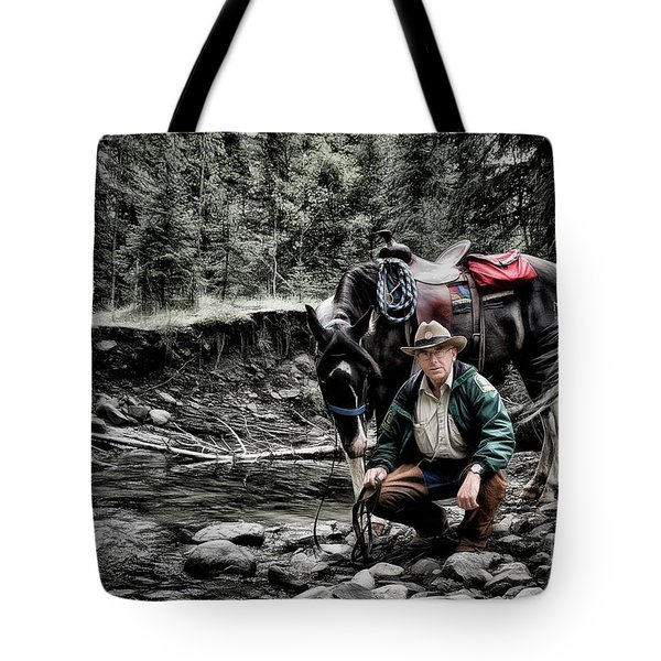 The Back Country Guardian Tote Bag