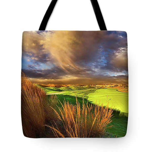 The Back Nine Tote Bag by Phil Koch