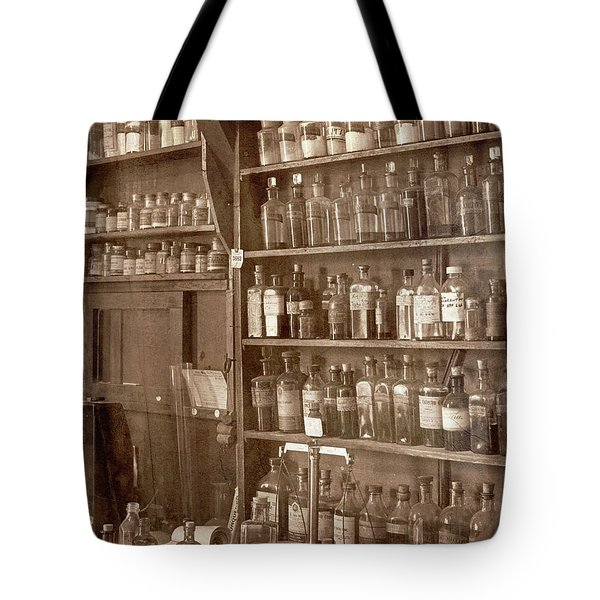 The Back Room In Sepia Tote Bag