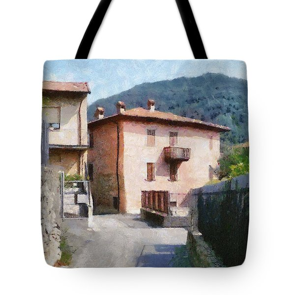 The Back Street Towards Home Tote Bag by Jeff Kolker