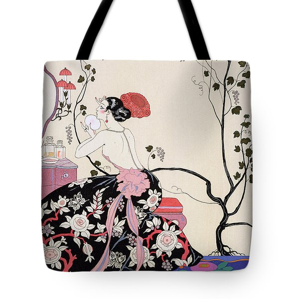 The Backless Dress Tote Bag by Georges Barbier