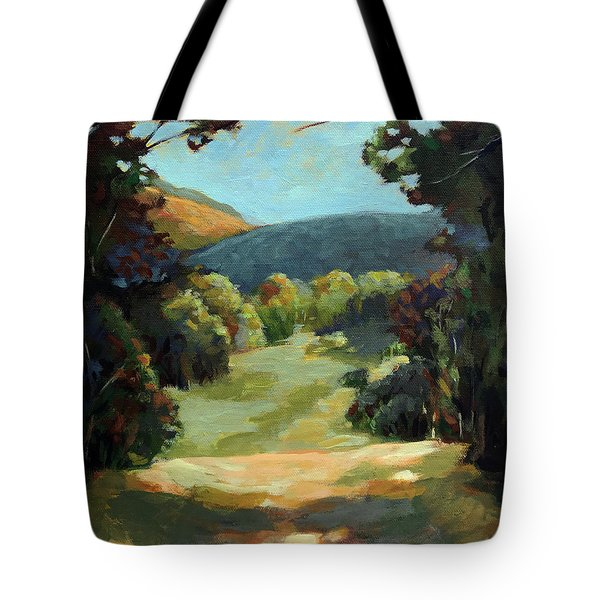 The Backroads - Original Oil On Canvas Summer Landscape  Tote Bag