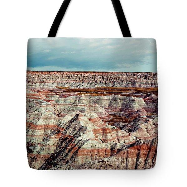 The Badlands Of South Dakota I Tote Bag